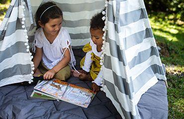 Babydecke, Krabbeldecke, Spieldecke, Picknickdecke, Steppdecke für Babys und Kinder.